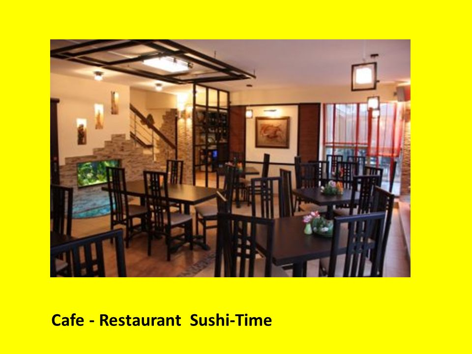 Cafe - Restaurant Sushi-Time