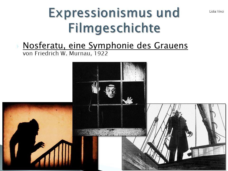Expressionismus und Filmgeschichte