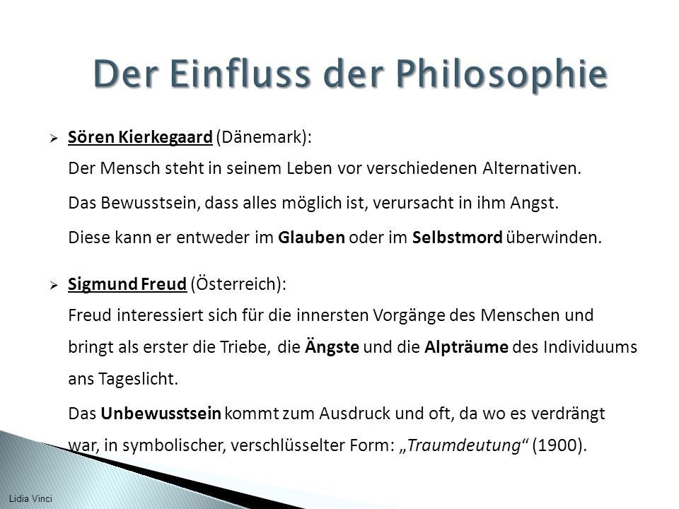 Der Einfluss der Philosophie