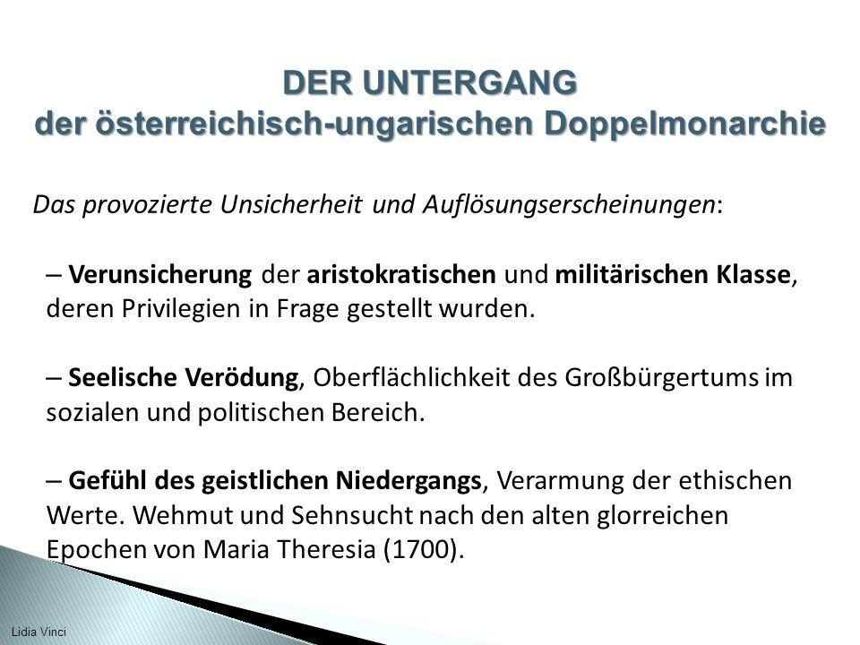 der österreichisch-ungarischen Doppelmonarchie
