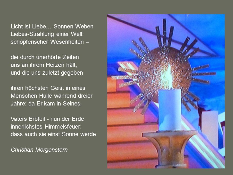 Licht ist Liebe… Sonnen-Weben Liebes-Strahlung einer Welt schöpferischer Wesenheiten –