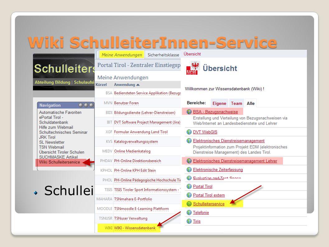 Wiki SchulleiterInnen-Service