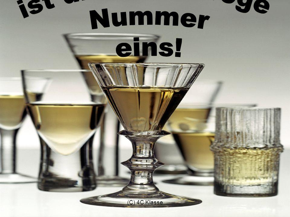 Alkohol ist die Volksdroge Nummer eins! (C) 4C Klasse