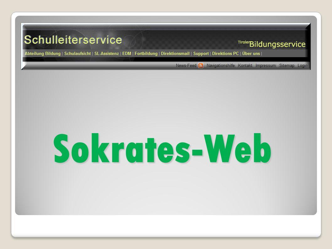 Sokrates-Web