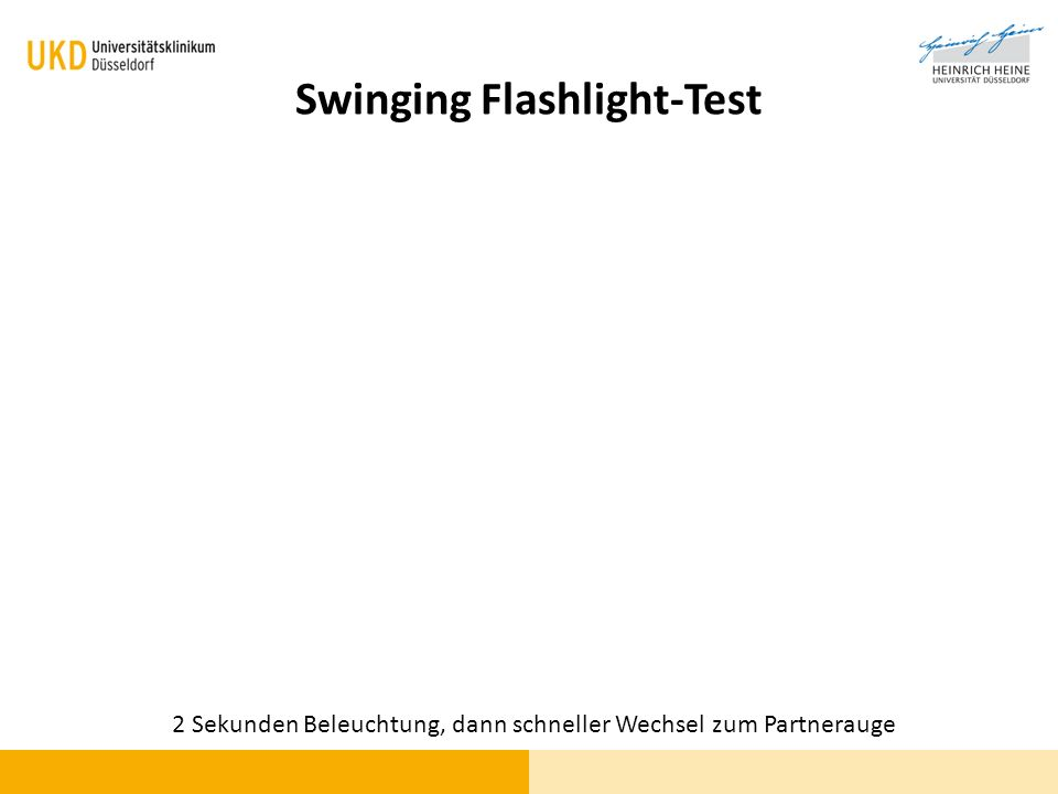 Swinging Flashlight-Test