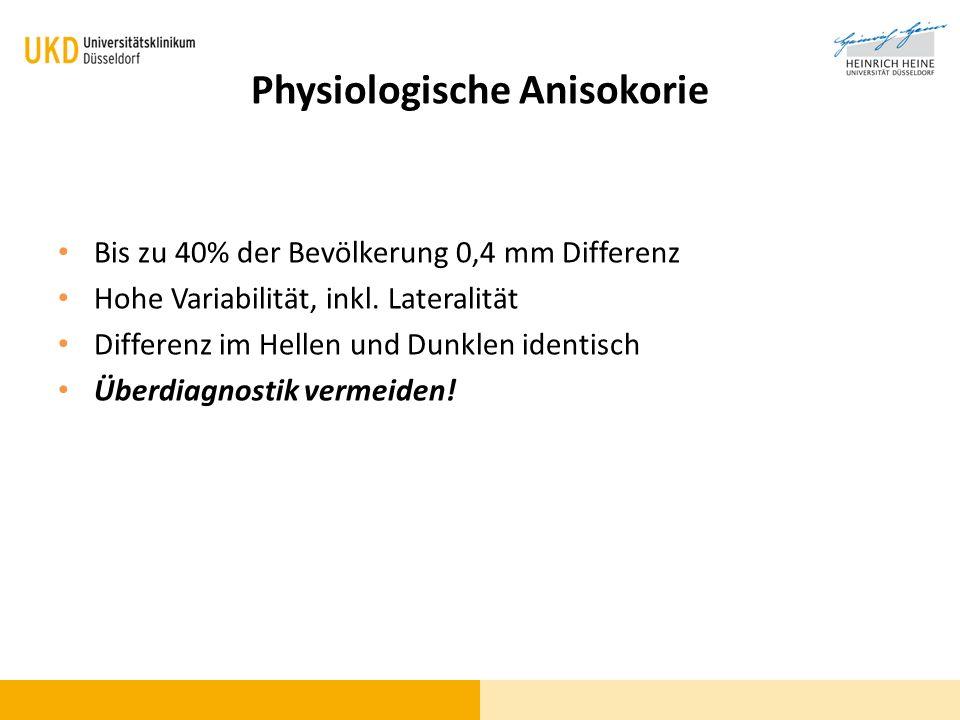 Physiologische Anisokorie