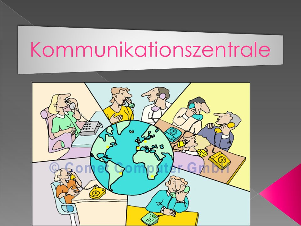 Kommunikationszentrale