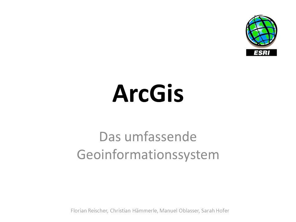 Das umfassende Geoinformationssystem