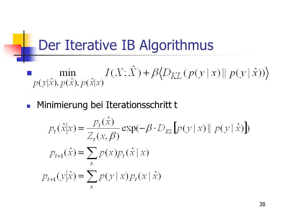 Der Iterative IB Algorithmus