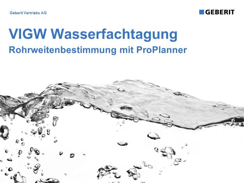 VIGW Wasserfachtagung