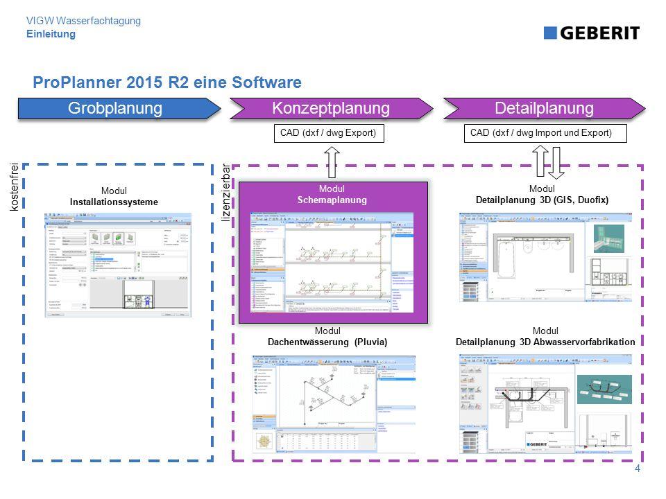 ProPlanner 2015 R2 eine Software