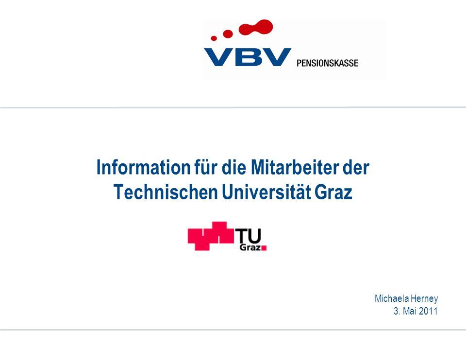 Information für die Mitarbeiter der Technischen Universität Graz
