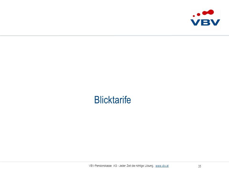 Blicktarife