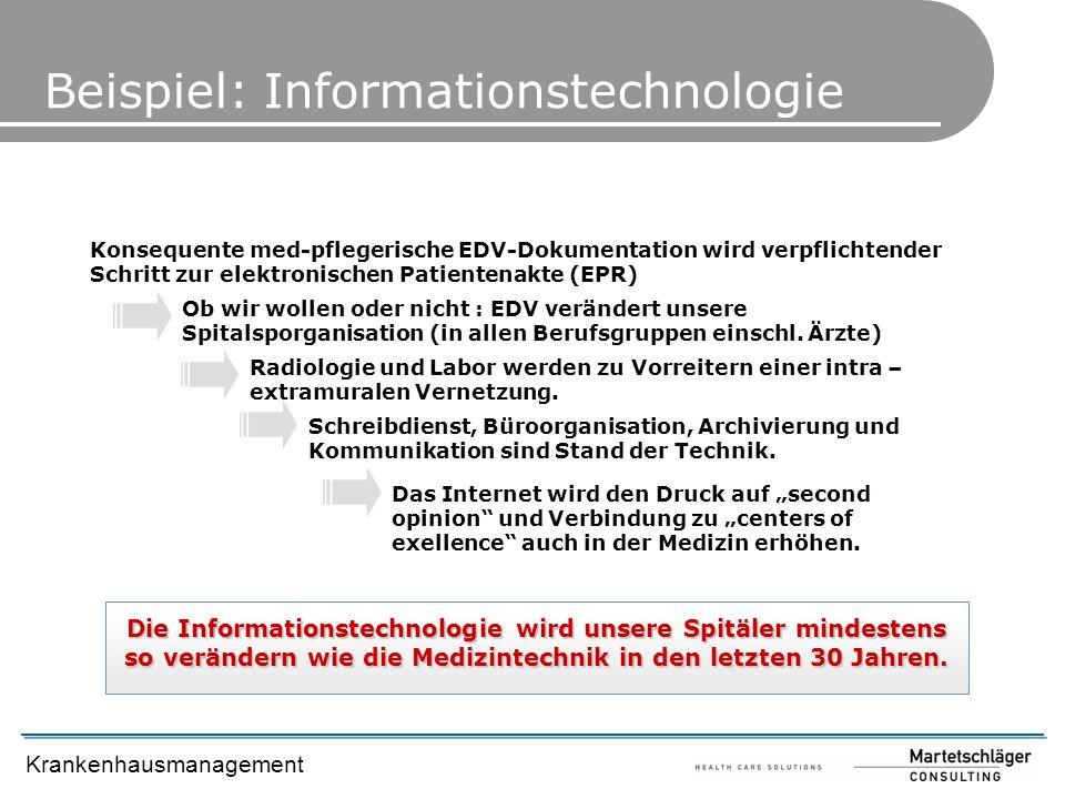 Beispiel: Informationstechnologie