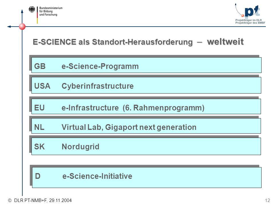 E-SCIENCE als Standort-Herausforderung – weltweit