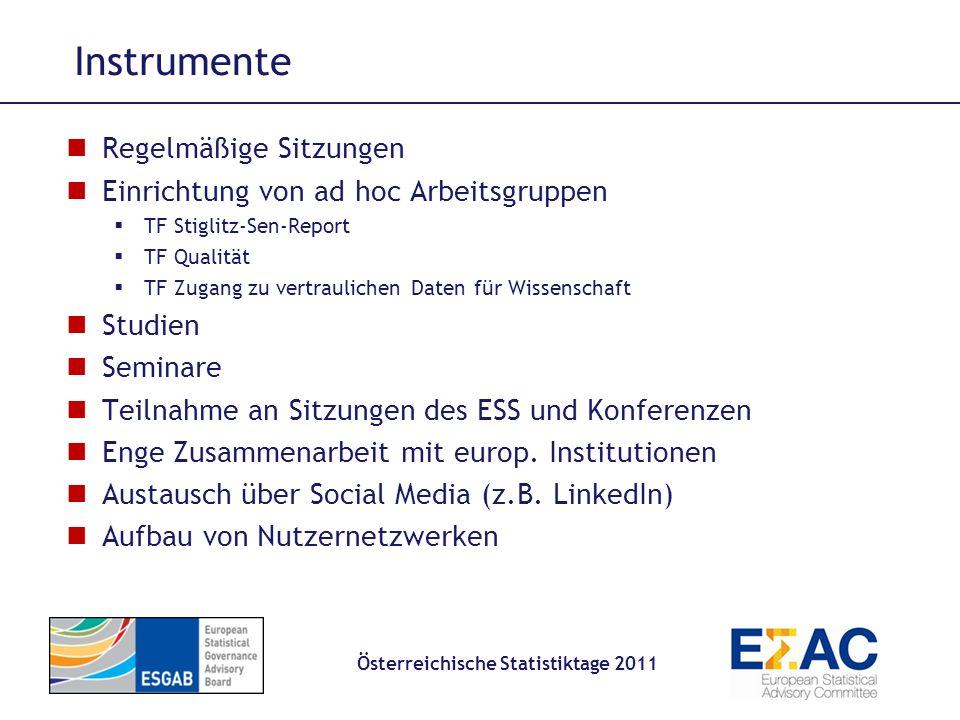 Österreichische Statistiktage 2011