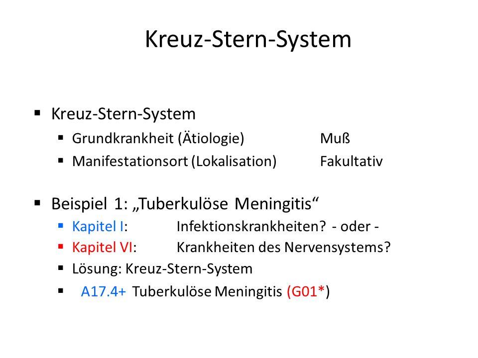 Kreuz-Stern-System Kreuz-Stern-System