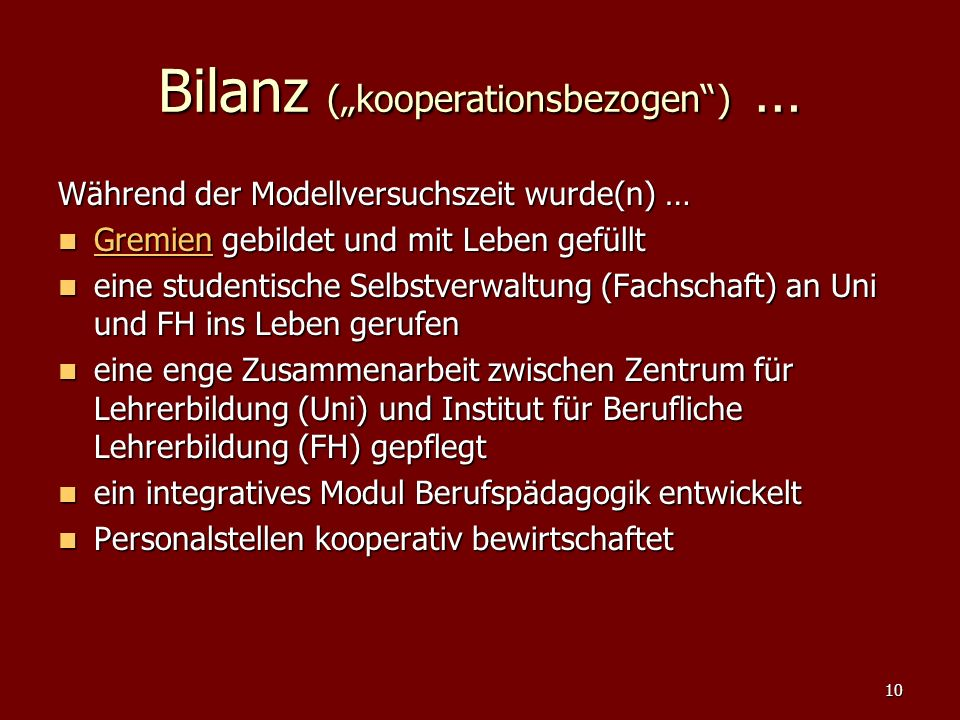 "Bilanz (""kooperationsbezogen ) …"