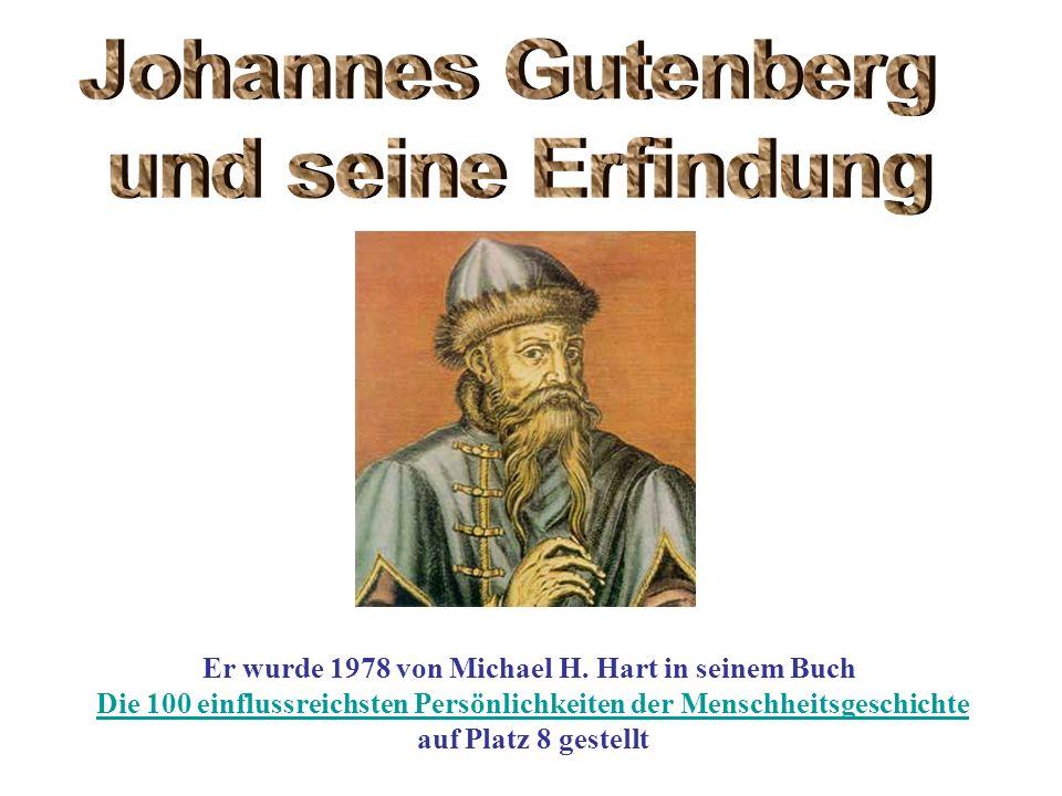 Johannes Gutenberg und seine Erfindung