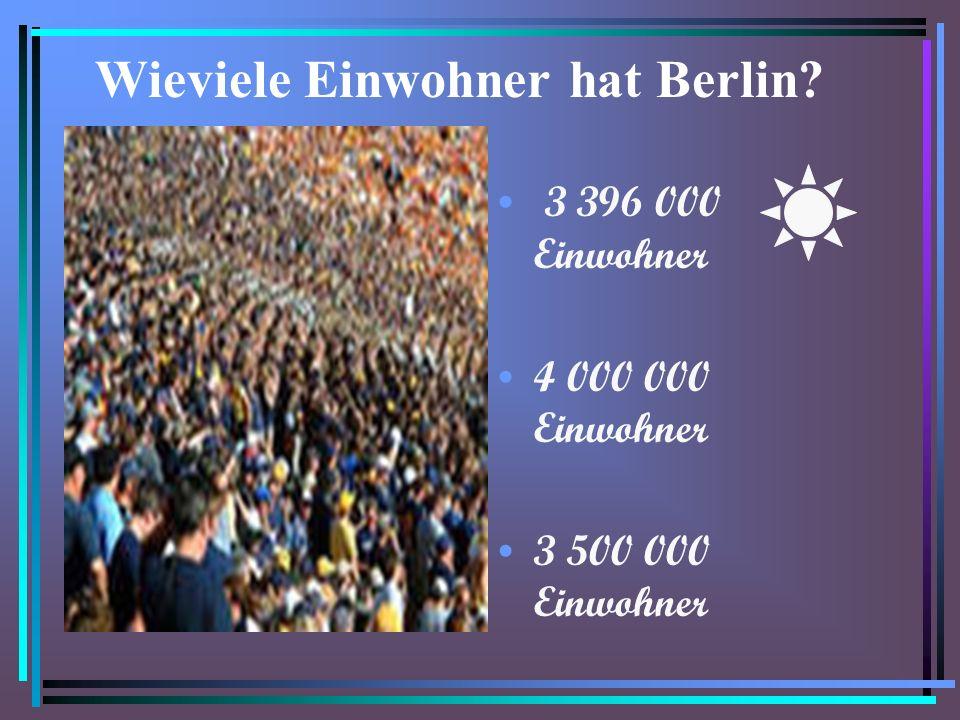 Wieviele Einwohner hat Berlin