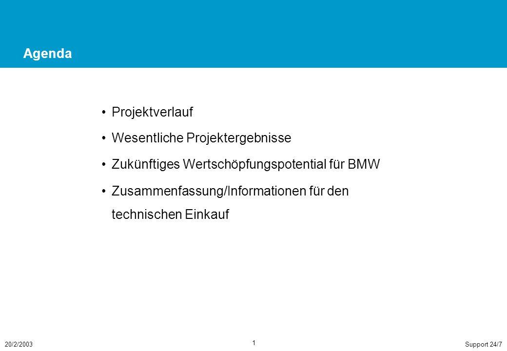 Überblick: Ausgehend von Anforderungen des Projekts OO-O und steigenden Anforderungen an zentrale IT-Stellen wurde das Projekt aufgesetzt, um ein abgestimmtes Support-Modell für die BMW Group zu entwerfen und pilothaft für OO-O ZJ umzusetzen