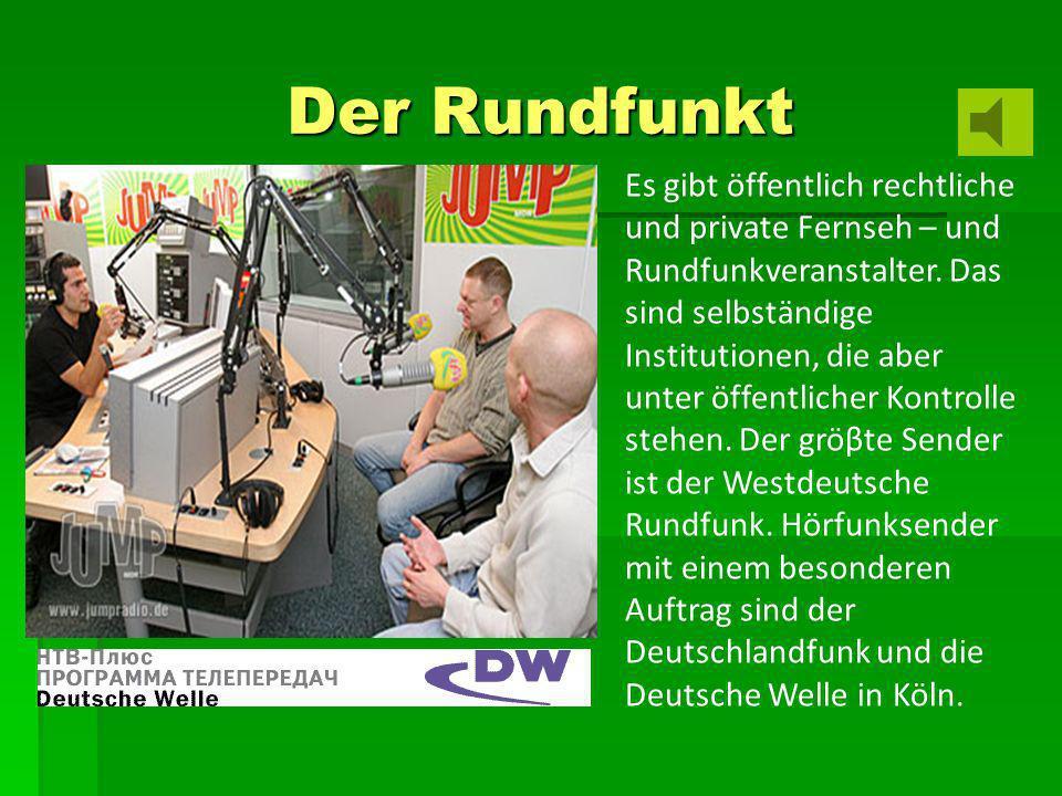 Der Rundfunkt