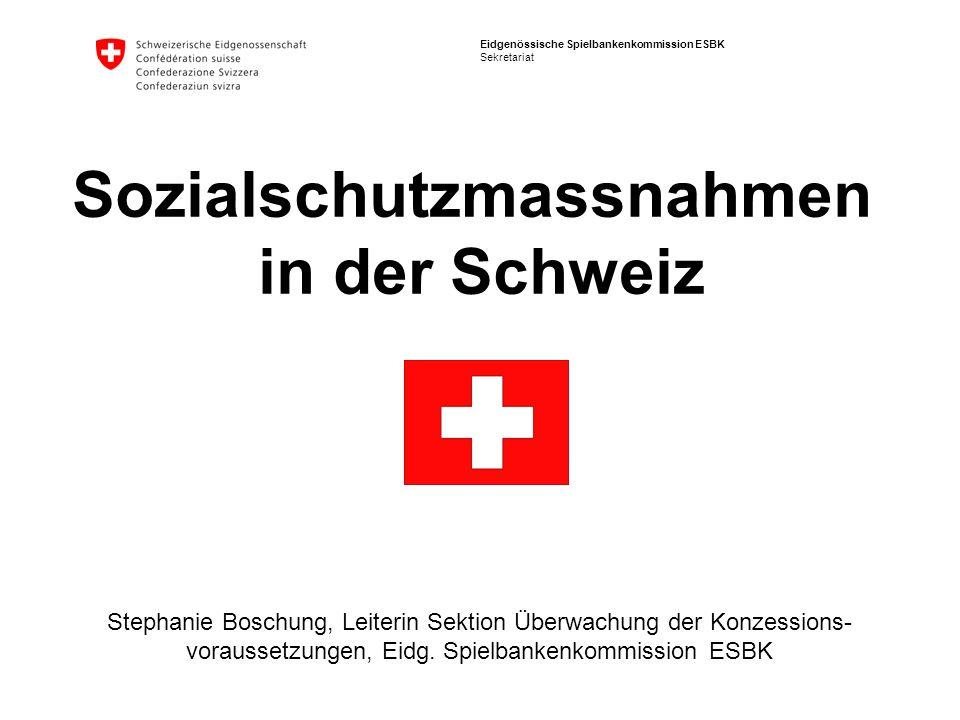 Sozialschutzmassnahmen in der Schweiz