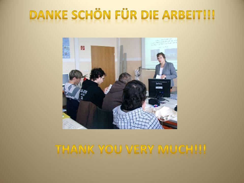 Danke schön für die Arbeit!!!