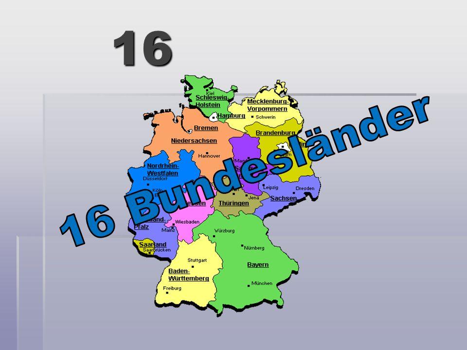 16 16 Bundesländer