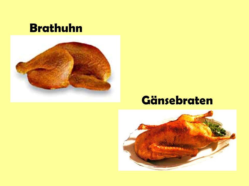 Brathuhn Gänsebraten