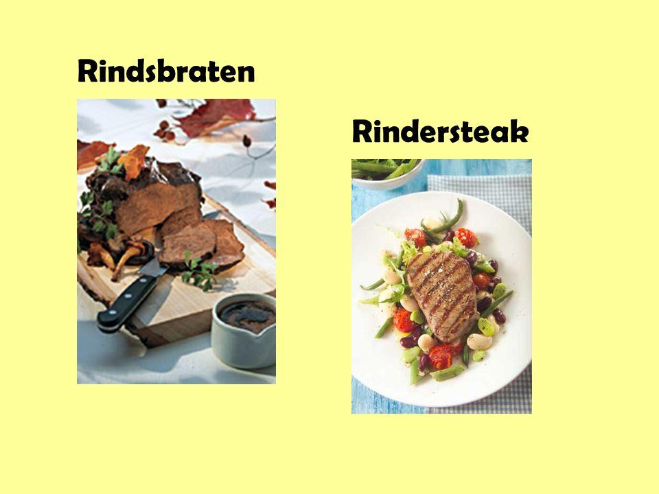 Rindsbraten Rindersteak
