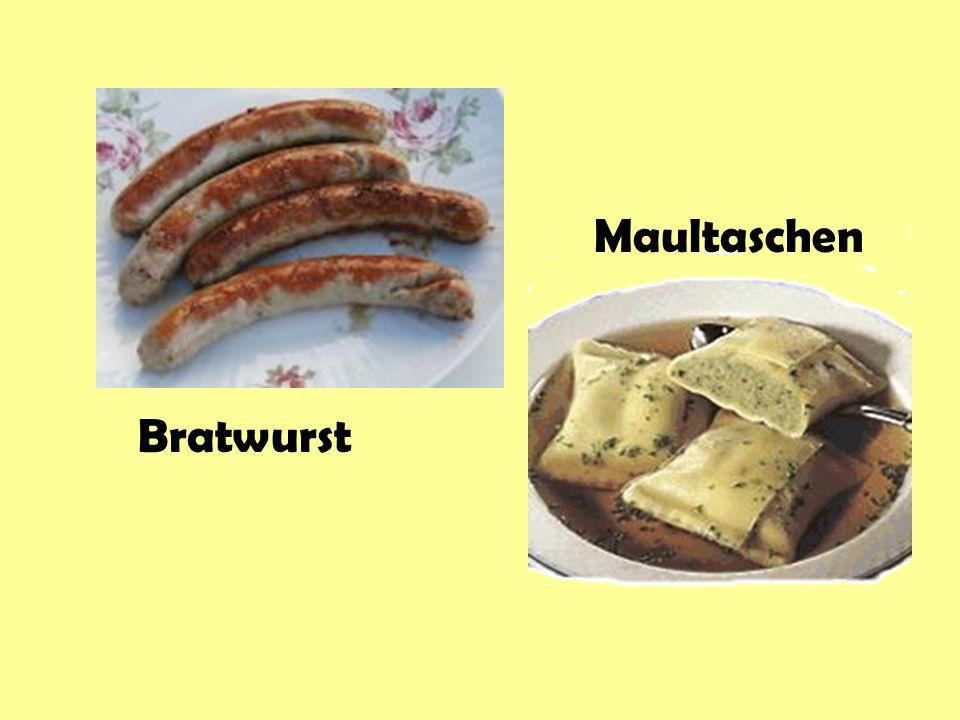 Maultaschen Bratwurst