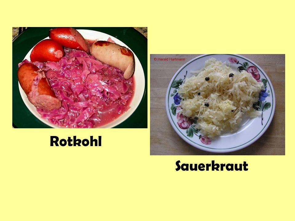 Rotkohl Sauerkraut