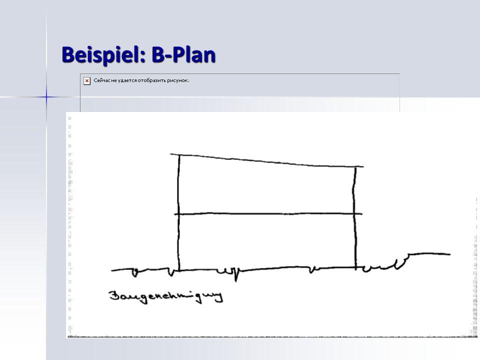 Beispiel: B-Plan