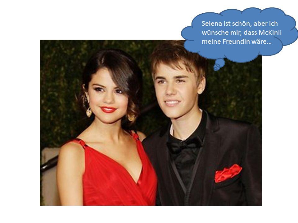 Selena ist schön, aber ich wünsche mir, dass McKinli meine Freundin wäre…