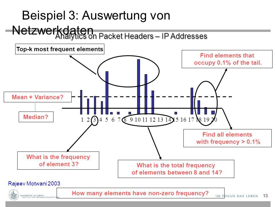 Beispiel 3: Auswertung von Netzwerkdaten