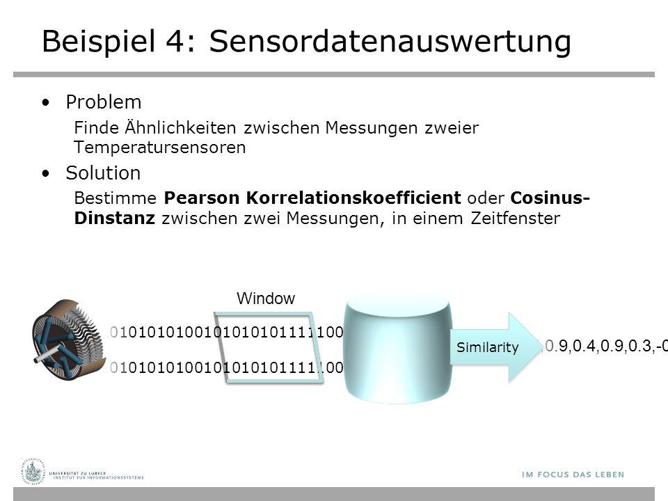 Beispiel 4: Sensordatenauswertung