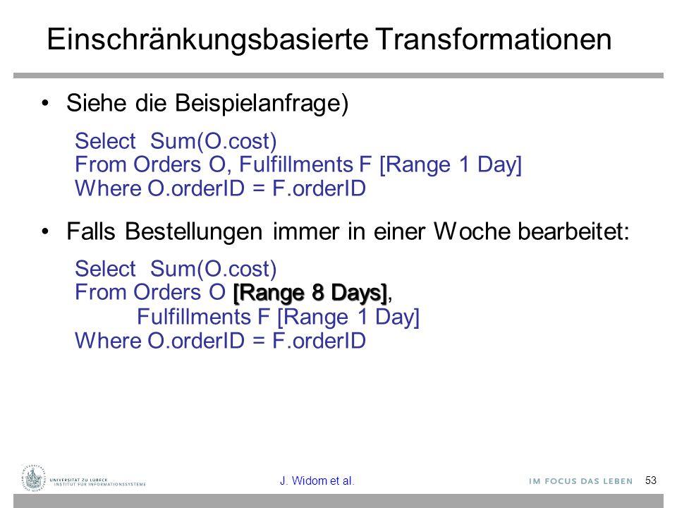 Einschränkungsbasierte Transformationen