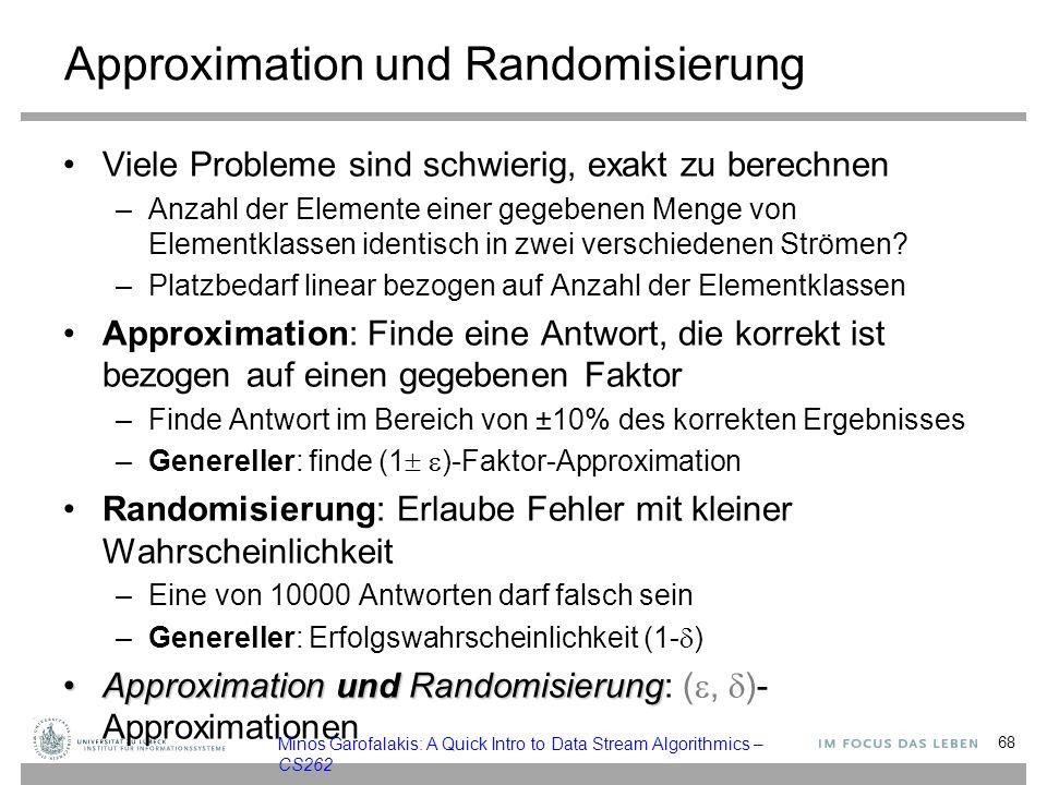 Approximation und Randomisierung
