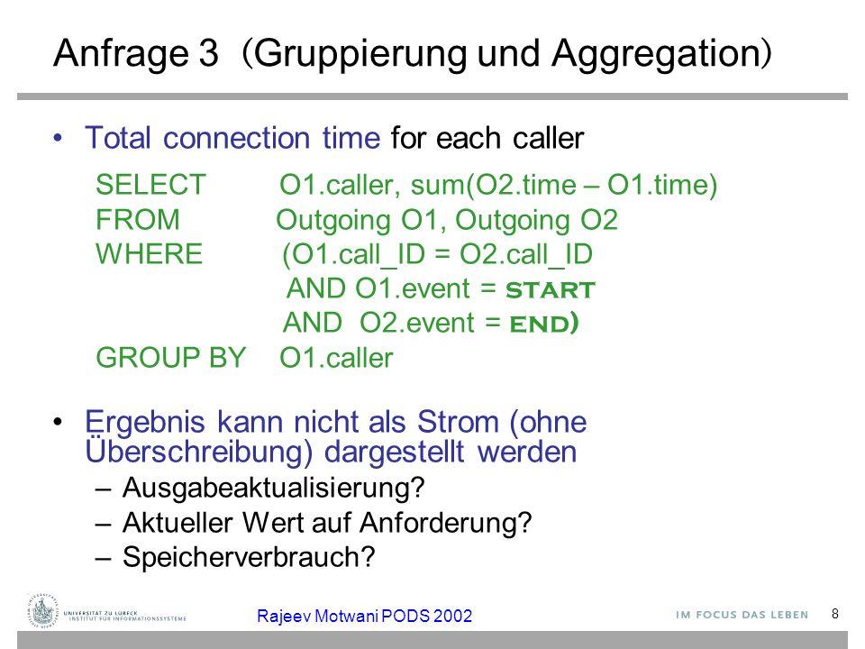 Anfrage 3 (Gruppierung und Aggregation)
