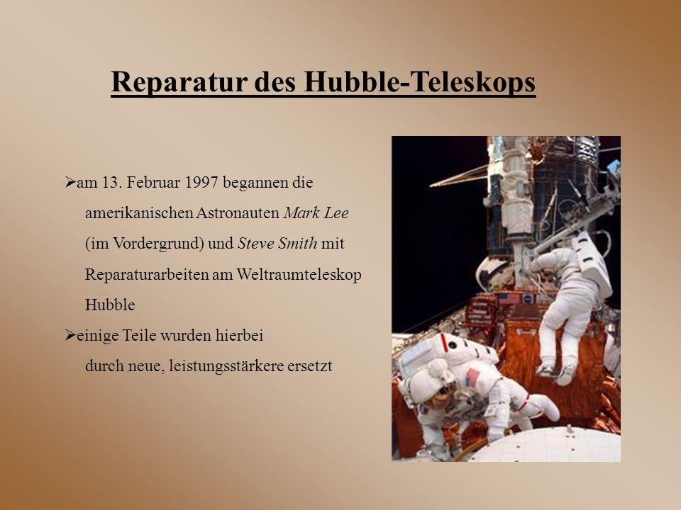 Reparatur des Hubble-Teleskops