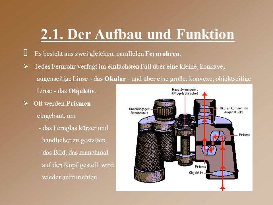 2.1. Der Aufbau und Funktion