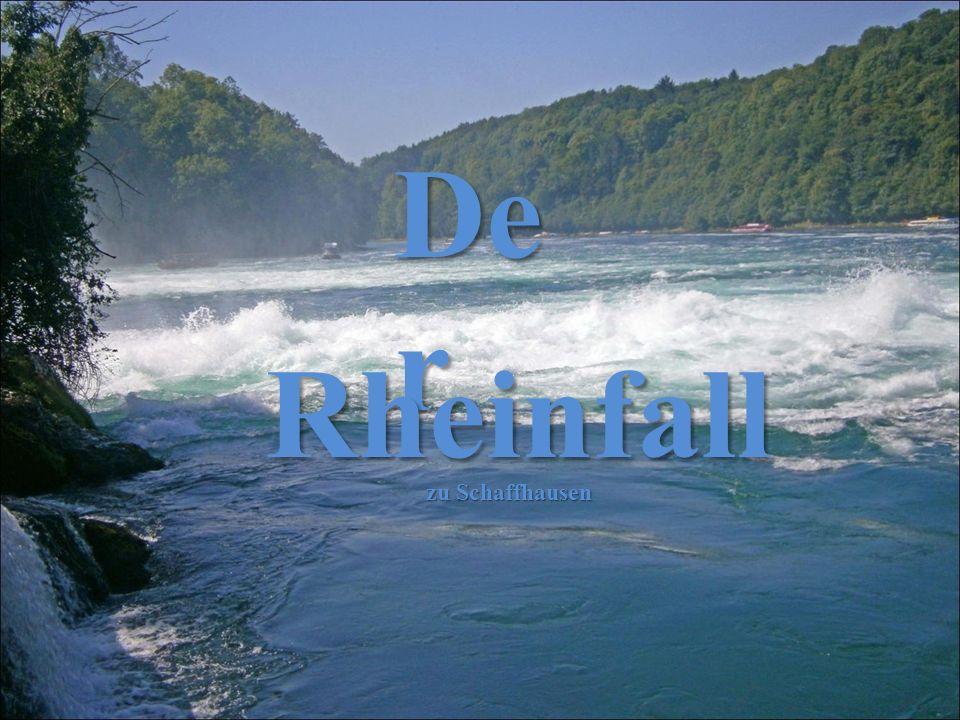 Der Rheinfall zu Schaffhausen