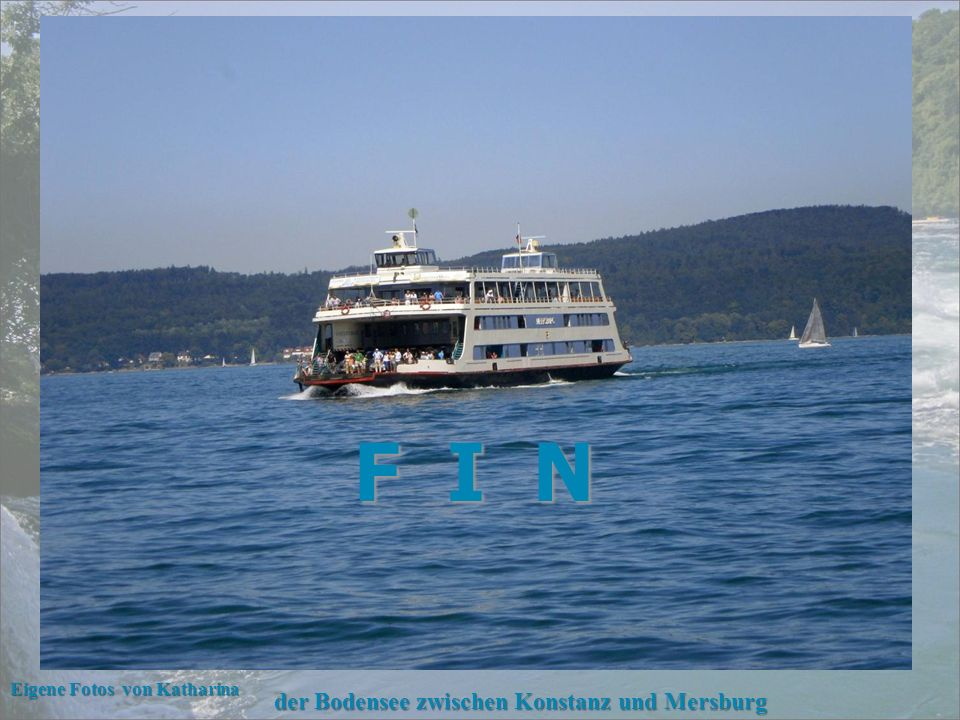 F I N der Bodensee zwischen Konstanz und Mersburg