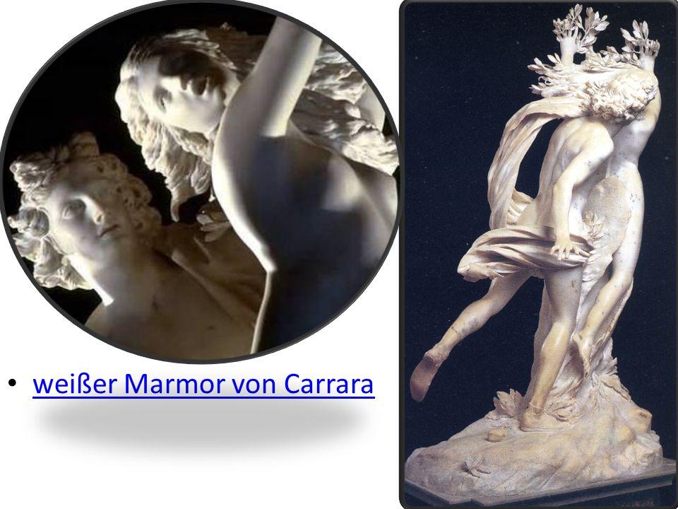 weißer Marmor von Carrara