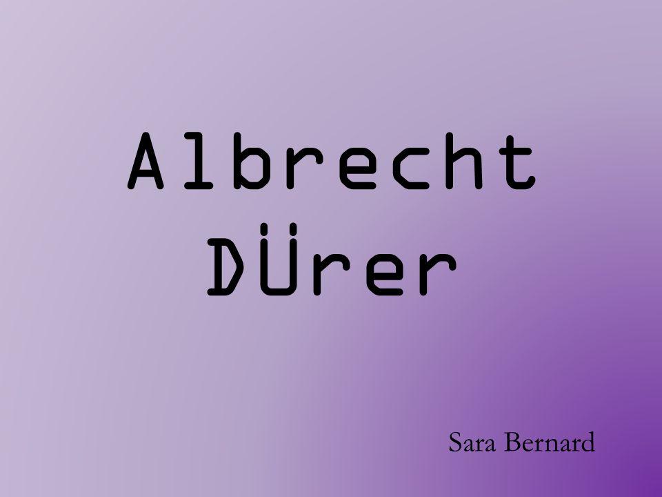 Albrecht DÜrer Sara Bernard