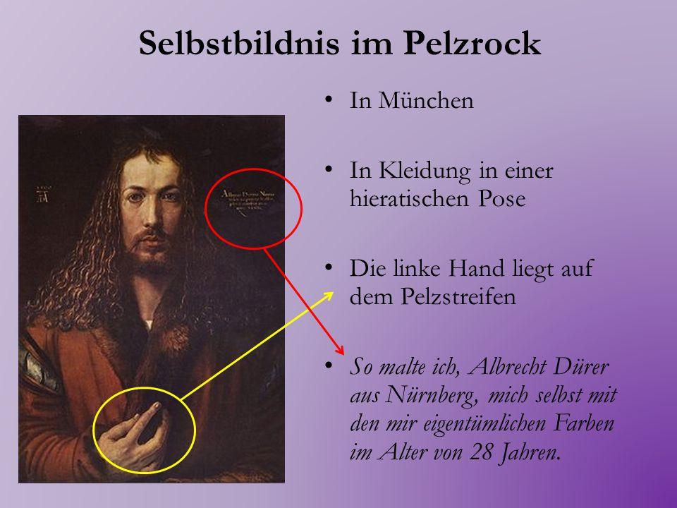 Selbstbildnis im Pelzrock