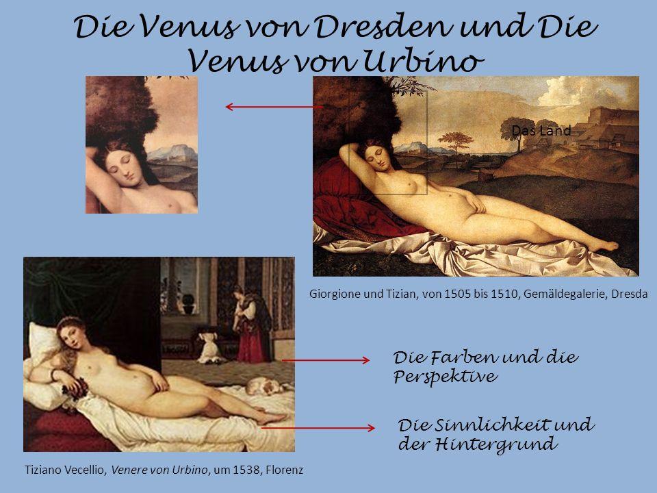 Die Venus von Dresden und Die Venus von Urbino