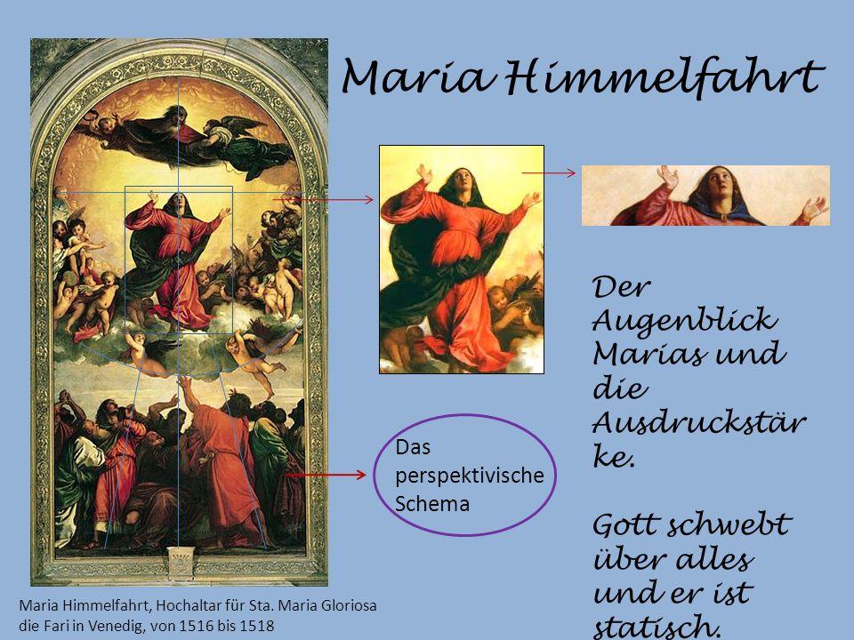 Maria Himmelfahrt Der Augenblick Marias und die Ausdruckstärke.