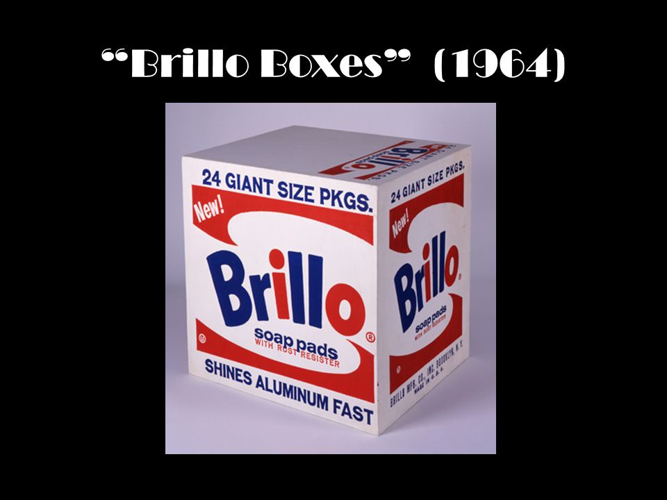 Brillo Boxes (1964)